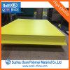 Strato opaco/lucido giallo del PVC per i prezzi da pagare di stampa