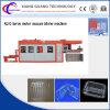 Automatischer Plastiksushi-Tellersegment-Kasten ServoThermoforming, das Maschine herstellt