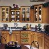 주문 Standard Traditional White 또는 Other Color 국가 Shake 국가 Style Bespoke Solid Wood Kitchen Cabinet