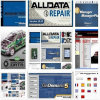 De auto Manager van Alldata Mitchell plus Elsawin Ect met 1tb USB