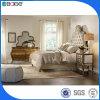 고전적인 침실 가구 나무로 되는 침대 디자인