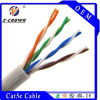 Cat 5e Cable di UTP Unshielded Solid Shielded Ethernet Network