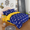 Type européen 3 linge de lit de PCS et de 4 PCS