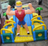 Use commerciale Inflatable Castle Made di un PVC Tarpaulin (A236) dalle 18 once