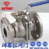 ISO5211 vávula de bola de flotación del acero inoxidable 2PC del borde JIS 10k