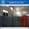 Cilindro de gás industrial do frasco do argônio do oxigênio do aço sem emenda