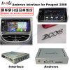 Поверхность стыка WiFi Bluetooth GPS уточнения Android на Peugeot 2008
