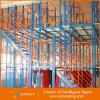 Sistema de acero del estante del piso de entresuelo del almacenaje resistente