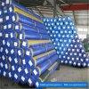 Haute résistance traitement UV de 4 m de la bâche de protection bleu en PE dans le roulis