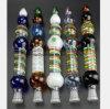 Farben-Glasquallen 10.63 Zoll-Wasser-Rohr, das Filter aufbereitet
