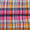 Price poco costoso Grid Check Woven Linen Fabrics per Men Shirt