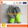 2017 Ddsafety флюоресценция желтой линии Napping акрилового волокна рабочие перчатки