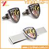 Изготовленный на заказ зажим связи плакировкой золота для подарка промотирования (YB-LY-TC-01)