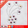 Geavanceerde Stickers van de Brieven van het Bergkristal van de Kleuren van de Apparatuur Diverse