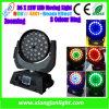 36PCS * éclairage principal mobile d'étape de lavage de 10W LED