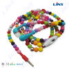 方法女の子のためのよい音質の宝石類のネックレスのイヤホーン