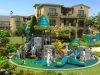 Outdoor temático Playground de Kaiqi Small Castle Children com Climbing Equipment (KQ50057B)