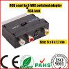S Vhs Plus RCA 잭 Switched Adapter (SY067)에 Scart Plug