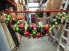 De Slinger van Kerstmis met Decoratie