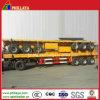 40ft 평상형 트레일러 Cimc 60tons를 위한 선택적인 콘테이너 트레일러