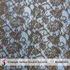 날실 뜨개질을 하는 레이스 까만 레이스 직물 도매 (M0403)