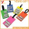 Prix d'usine Custom Soft PVC Rubber Luggage Tag