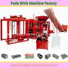 Machine de verrouillage automatique hydraulique concrète de brique