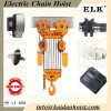 20ton Electric Chain Clutch Hoist con Electric Trolley