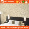 2016 Nuevo Diseño de PVC en relieve Wallcovering profundo (80503)
