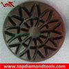 Almofadas de polonês concretas abrasivas do assoalho da resina de Velcro de Rosex