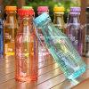 bottiglia di acqua di 550ml Customized Logo Transparent Plastic Sports (SLSB02)