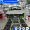 Ligne de peinture de véhicule avec la cabine de jet de PVC