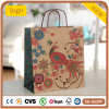 Phoenix-Muster-Kraftpapier-Kleidung bereift Geschenk-Papierbeutel