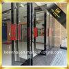 Innenrosen-goldene Farben-Spiegel-Ende-Edelstahl-Glas-Tür