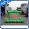 Obiettivo gonfiabile del raggruppamento di obiettivo dell'acqua di gioco del calcio/acqua con rete