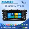 Reproductor de DVD del coche de Indash de la fábrica de Zestech para Byd G3