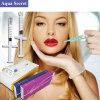 Injeção de ácido hialurônico fissuração cutâneas de enchimento de lábios