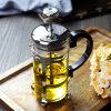 Heat-Resistant боросиликатного стекла чайник на французском языке нажмите кофе и чая, 18/10 плунжер из нержавеющей стали