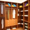 Layer BoardおよびDrawersの木製のCabinet Conner Wardrobe