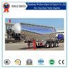 Transporte de cimento em alumínio de 40 cbm 3 eixos Semi-reboque de carga