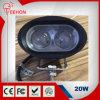 Luz del trabajo del CREE 4inch 20W LED con la lente 4D