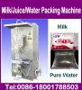 500 ml de jugo de leche de máquina de embalaje bolsa de agua