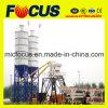 Hzs35 35m3/H Mini Concrete Mixing Plant com Semi-Auto Button Control