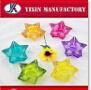 Spray-Farben-Glashochzeits-Dekoration-Kandelaber-Blumen-Halterung