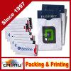 Wanti-Roubo ajustado RFID da caixa dos suportes do cartão & do passaporte de crédito que obstrui capacidades para a segurança (420032)
