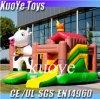 膨脹可能なCow Bouncer、Kids、Attraction Inflatable Castle、Animal Bouncy Castles Inflatables中国のためのJump