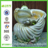 Resina Fantastic Sea Shell Water Fountain con Rolling Ball (NF11098-2)