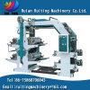Machine d'impression de Flexography de sac à provisions de film plastique des couleurs Yt-4800 4