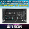 Hyundai Tiburon (W2-D8900Y)를 위한 Witson Car DVD Player Touch Screen Steering Wheel Control WiFi 3G RDS