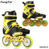 Mens Street Freeline Roller Inline Skate 110mm Speed ​​Skates 3 Rodas Shoes 2 Ways Skating Shoes